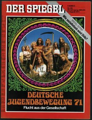 Spiegel Nr. 33, 1971, Raymond Martin und seine Kommune.