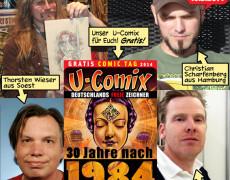 U-Comix Zeichner im Comic Centrum Oberhausen!