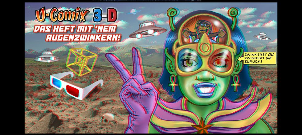 U-Comix 3D